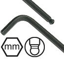 MM Ball L Shaped Long Hex Keys